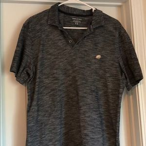BananaRepublic Navy Distressed Suze Medium Polo